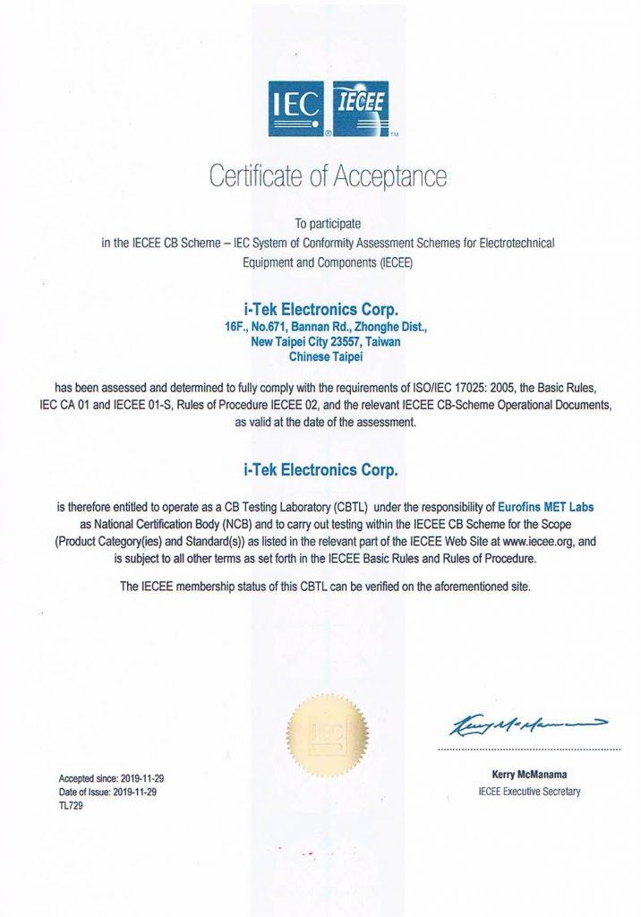 Eurofins MET labs's CBTL of MED