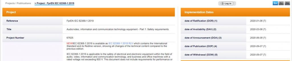 FprEN IEC 62368:2019